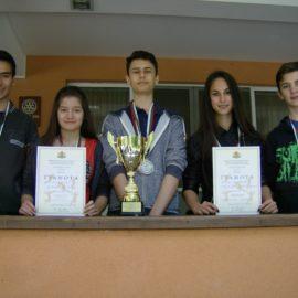"""ПМГ """"В. Друмев"""" с бронзови медали от Ученическите игри по шахмат"""